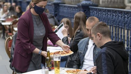 The Eat Out to Help Out scheme offered discounts of up to £10 per person every Monday, Tuesday and W