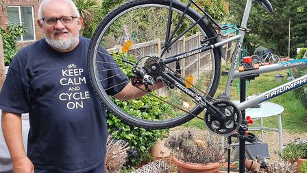 Three bikes were stolen from charity Wanstead Upcycles set up by Paul Canal. Picture: Paul Canal
