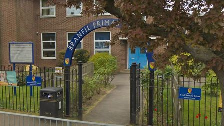 Branfil Primary School is one of those taking part in the pilot. Picture: Google.