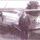 Owner of the airline company Edward Hillman which flew from Maylands Aerodrome – that grass airstrip
