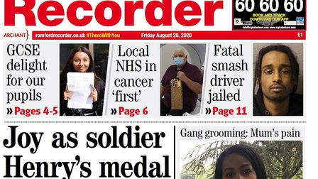 The Romford Recorder has new owners.