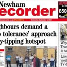 The Newham Recorder has new owners.
