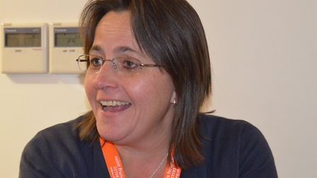 Tes Smith is director of quality and care. Picture: Saint Francis Hospice