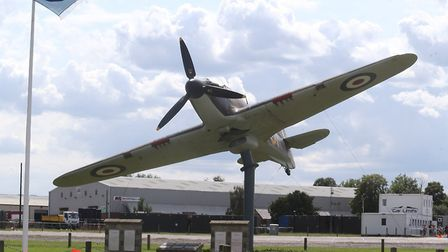 North Weald Aerodrome was one the ring of airfields protecting London in the Battle of Britain. Pict