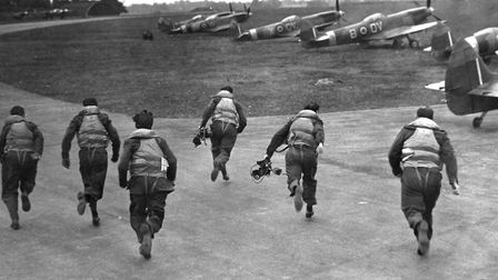 The aerodrome at Biggin Hill was a front line airfield during the Battle of Britain.Picture: PA