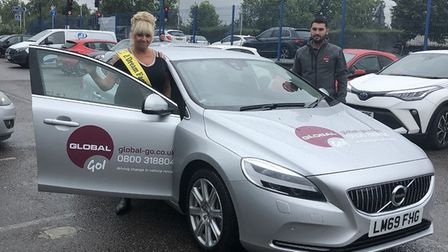 The Dream Factory charity founder Avril Mills was donated the use of a car for a year by rental comp