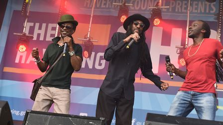 Aswad performing in 2019. Picture: Ken Mears