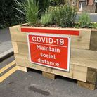 Temporary traffic barriers will be installed from September 14 until the end of the year. Picture: R