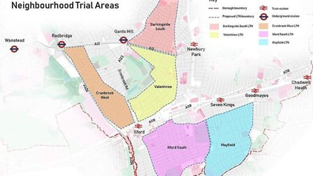 Cranbrook West and Barkingside South are the first of five trials to be launched this year. Picture: