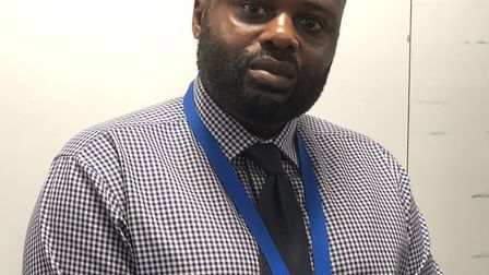 Detective chief inspector Seb Adjei-Addoh, who is leading Operation Riverside for the Met Police. Pi