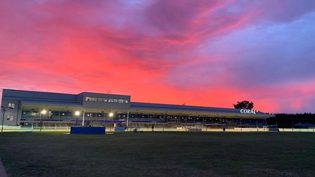 Romford Greyhound Stadium is reopening to the public for the first time since March. Picture: Romfor