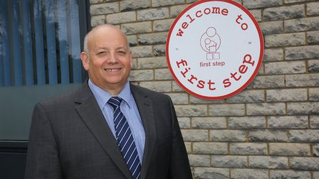 Mark Halls, chief executive of children's charity First Step