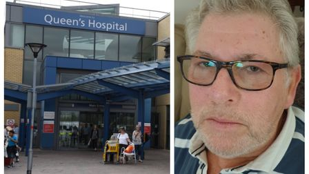 Queen's Hospital has launched an investigation after terminally ill cancer patient Maurice Stockland