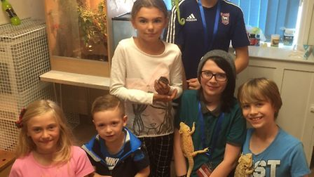 Oulton Broad Library Reptile Morning