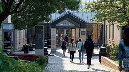 A student at Havering College sixth form has tested positive for coronavirus. Picture: Havering Coll