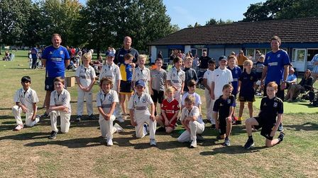 Upminster under-9s won the Don Coates Trophy (Pic: Paul Middlemiss)