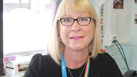 BHRUT's bereavement officer Julie Atkins. Picture: BHRUT