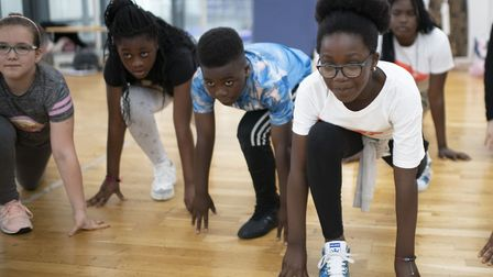 An On the Move class run by East London Dance. Picture: Chris O'Donovan