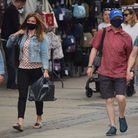 Keith Stanbury says shops should refuse entry to people not wearing masks. Picture: DENISE BRADLEY.