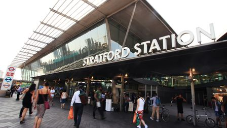 The teenager was stabbed on board a train from Stratford station. Picture: Isabel Infantes