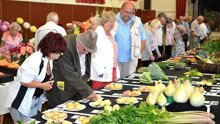 Oulton Broad and LOwestoft Horticultural Society Summer Show- Mick Howes