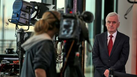 John McDonnell talks to breakfast television about Labour's position on Brexit and a People's Vote.