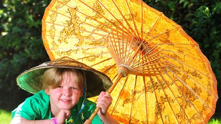 Finn Wood (8) from Lowestoft will be performing in the opera Madam Butterfly at the Marina Theatre.P