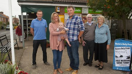 The Barbrook family are leaving the Reydon village stores after 50 years. New owners, Henry and Leig