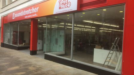 The new Poundstretcher store, which is set to open tomorrow (Saturday) in Lowestoft town centre. Pic