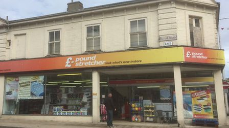 The existing Poundstretcher store in Lowestoft, at the top end of London Road North, which will be e
