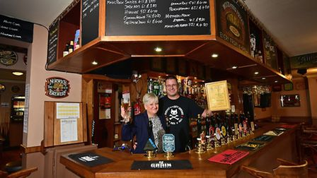 Stanford Arms, Lowestoft. Owners David and Samantha Burd.Picture: ANTONY KELLY