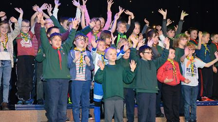 It has been many years since Lowestoft had a Gang Show. But as the scouting movement celebrates the