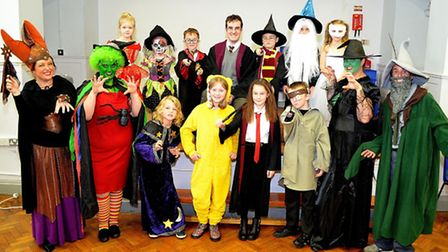 Back then - Children in Need at St Margarets Primary Academy in Lowestoft last year. Pictures; MICK