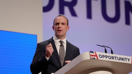Brexit secretary Dominic Raab has admitted 'Chequers is not what I wanted' Photo: PA / Aaron Chown