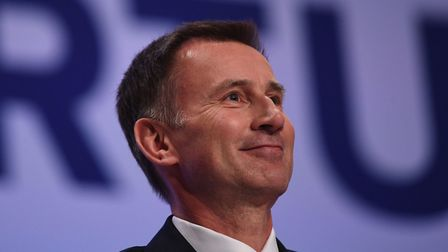 Foreign Secretary Jeremy Hunt during the Conservative Party annual conference. Photograph: Stefan Ro