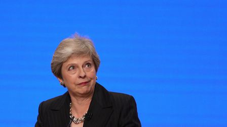Prime minister Theresa May told the Tory annual conference she was building a 'brighter future for t