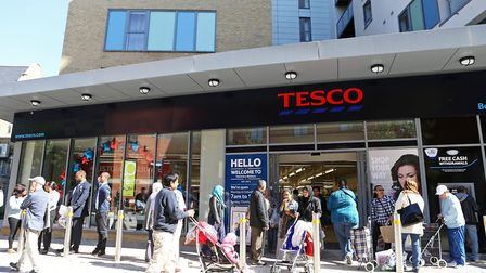 A Tesco store in London. Picture: Kois Miah