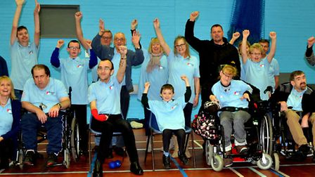 Lowestoft Boccia Club. Picture by Ross Munro