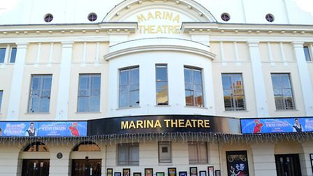 Marina Theatre and Cinema in Lowestoft, Suffolk. Picture by Mick Howes