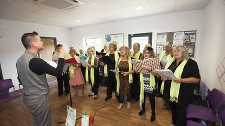Kirkley Community Choir, who will be performing at the Seagull Theatre on Sunday, January 29. Pictur