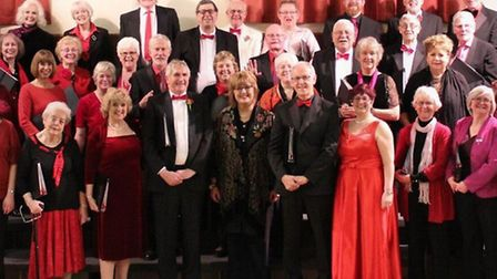 Pakefield Singers presenting a fun-filled cabaret evening – entitled With Love. Picture: PAKEFIELD SINGERS