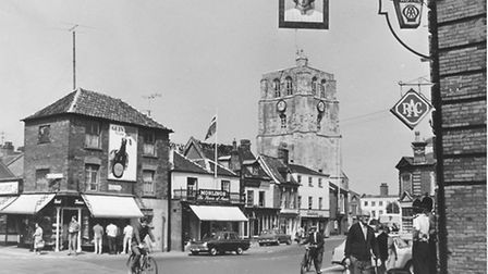 Beccles town centre pictured in the 1960s. Picture: Archant.