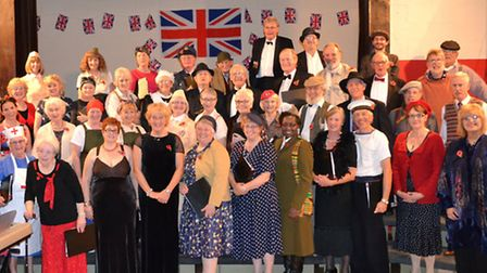 Pakefield Singers at a recent 40's themed Cabaret Evening. Picture: PAKEFIELD SINGERS