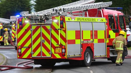 Firefighters from Lowestoft were called out. PHOTO: Nick Butcher