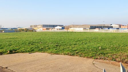 The former Wessex Foods site on the South Lowestoft Industrial Estate.