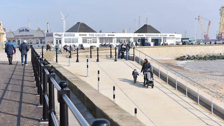 Lowestoft's South Pier and beach. Picture: Archant.