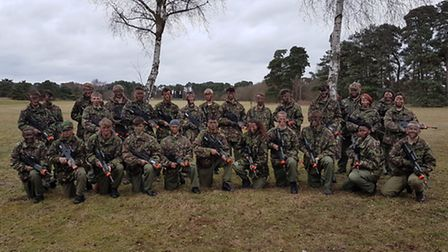 Students from Lowestoft College Public Services courses recently attended a five-day RAF Regiment Lo