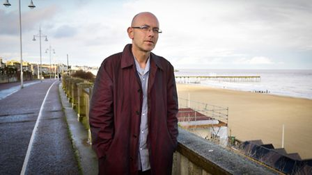 Designer Wayne Hemingway talks to business leaders and community groups about ways to improve Lowestoft seafront.PHOTO...