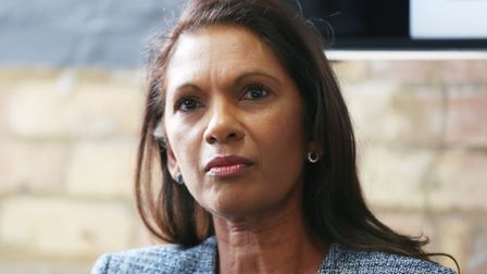 Businesswoman and Transparency Activist, Gina Miller, takes part in a panel discussion on 'What Busi