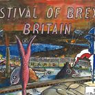 Martin Rowson's front page image focusing on the Festival of Brexit Britain